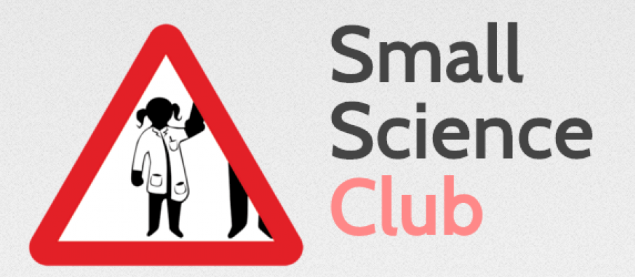 Small Science Club logo and text